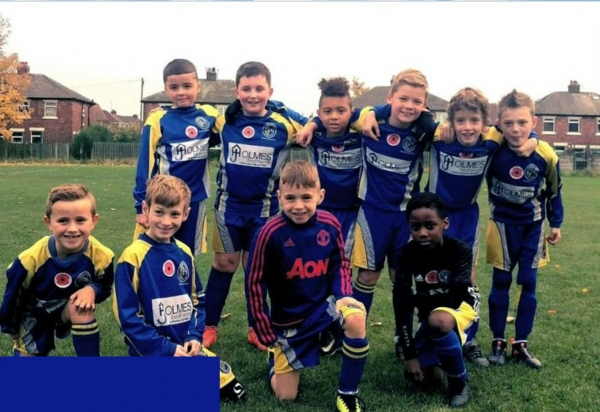 Reddish North End Under 10s Blues 2019