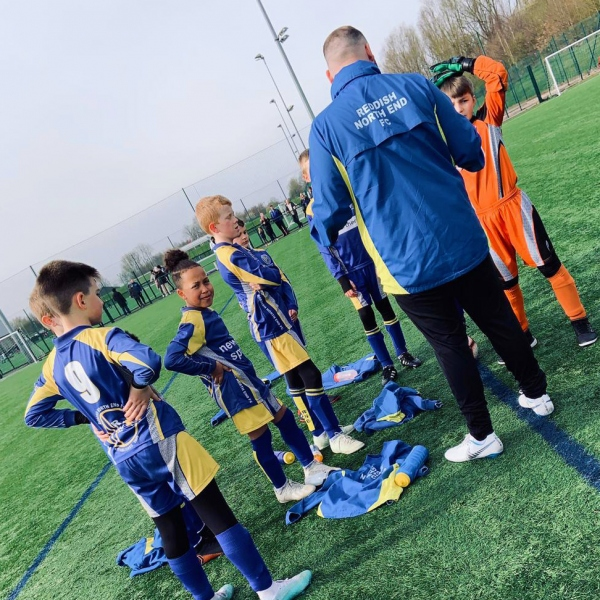 Reddish North End Under 11s Yellows 2019