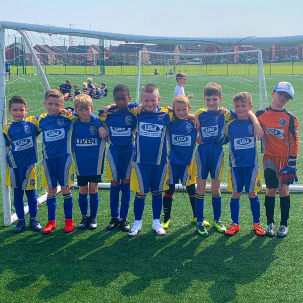 Reddish North End Under 9s Blues 2019