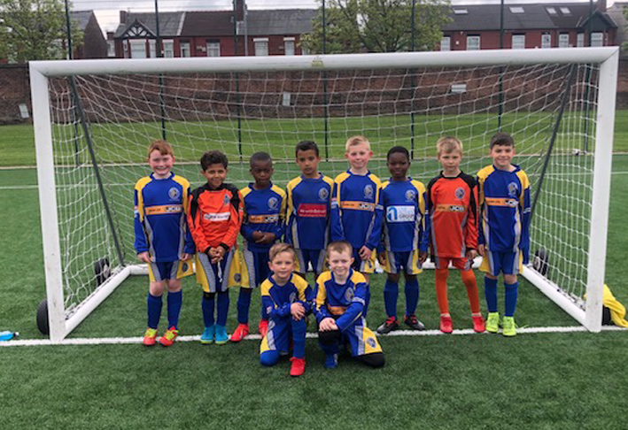 Reddish North End Under 9s Greens 2019
